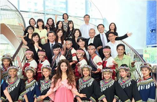 7月2日「愛的力量」演唱會,將由美聲天后徐景淳將與南投仁愛國中、民安國中的孩子一起演出。(謝平平/大紀元)